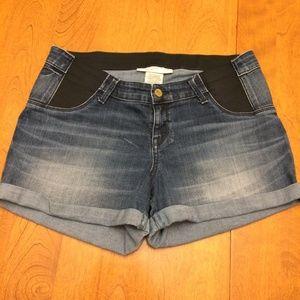 Liz Lange Maternity Size 8/10 Jean Shorts